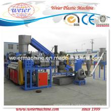 PP, PE Film Pelletizing Line Plastic Machinery