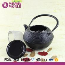 Bule chinês do ferro fundido com infusor, potenciômetro extravagante do chá