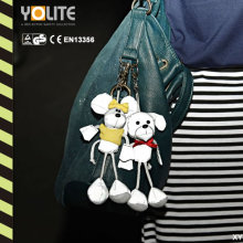 Reflective Mouse Dolls with CE En13356/Reflective
