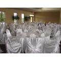selbst gefesselt satin Stuhlabdeckung / selbst Wraped Stuhl Abdeckung für Hochzeit Bankett Hotel