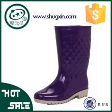 прекрасные дамы дождь обувь дамы Клин ботинки дождя