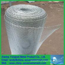 China fornecedor quente-mergulhado cerca de malha de arame galvanizado / malha quadrada galvanizada (china por atacado)