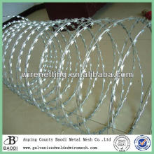 galvanized razor edge barbed wire (quality manufacturer from China)