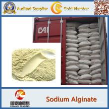 Alginato de sodio para aditivos alimentarios, doméstico, impresión, teñido, textil,