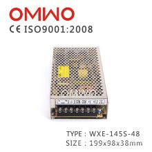Fonte de alimentação de Wxe-145s-48 145W 48V para o equipamento industrial de exposição de diodo emissor de luz