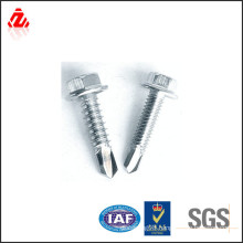 Zinc self drilling roofing screw