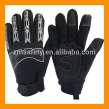 Thermal Lined Mechanical Glove With Knuckle And Finger Back Protection