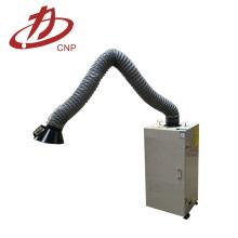 Extrator portátil das emanações dos coletores de poeira do filtro do cartucho de exaustão da soldadura de fumo