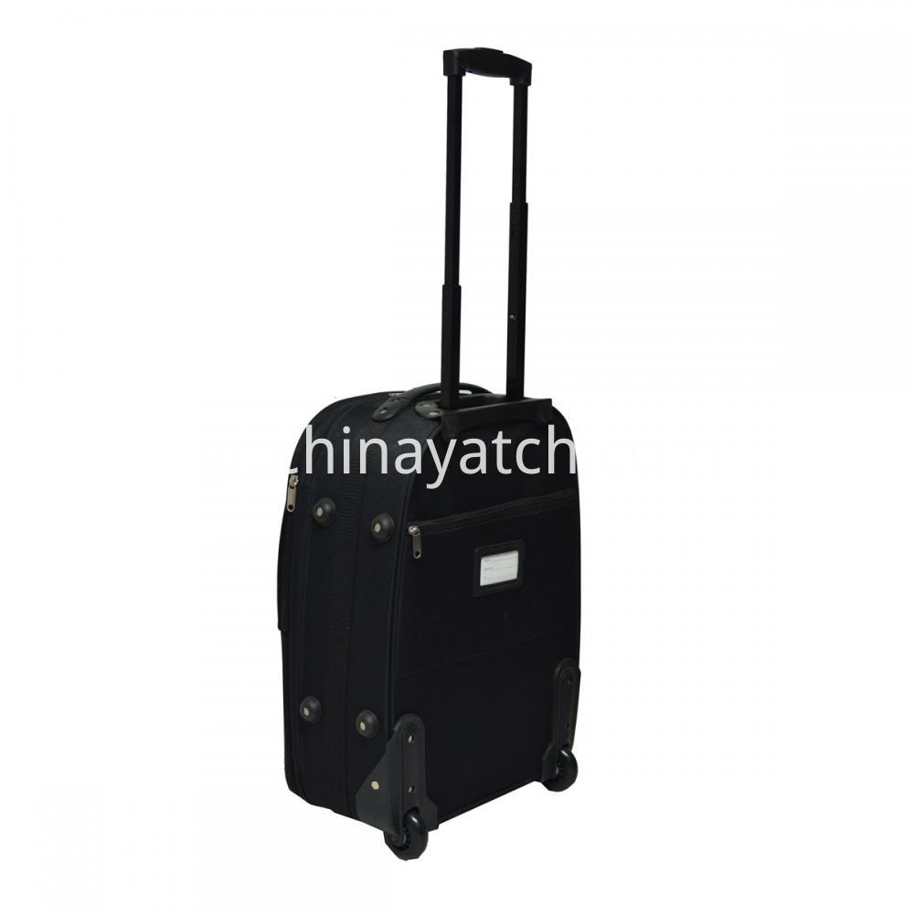 Blue Soft Trolley Luggage