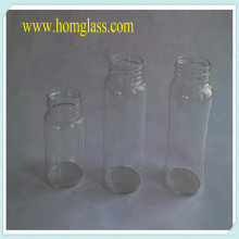Heat Resistant Glass Milk Bottle Jar Storage by Pyrex Borosilicate Glass