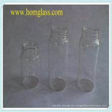 Hitzebeständiges Glas Milch Flasche Glas Lagerung von Pyrex-Borosilikat-Glas