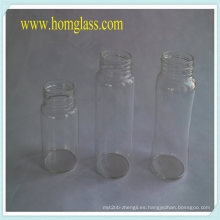 Vidrio resistente al calor leche botella tarro de almacenamiento de vidrio de borosilicato Pyrex