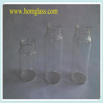 Armazenamento de jarra de garrafa de leite de vidro resistente ao calor por Pyrex Borosilicate Glass