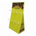 PDQ Box Portable Promotion Cardboard com mostrador de ganchos