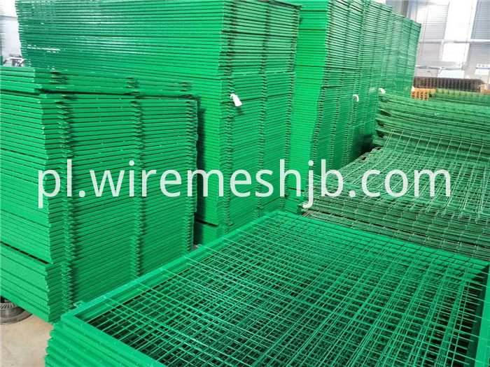 Green Welded Wire Mesh Fence