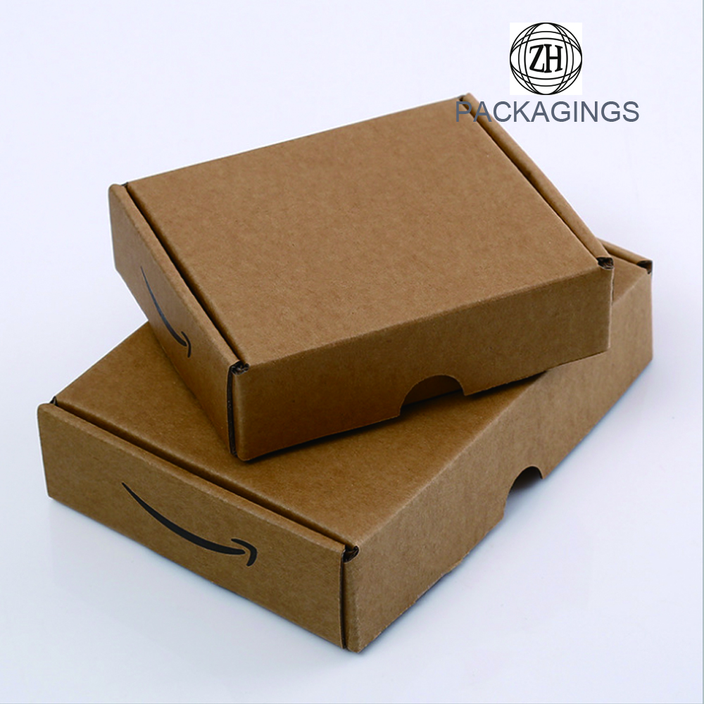 3-ply corrugated shipping box for apparel