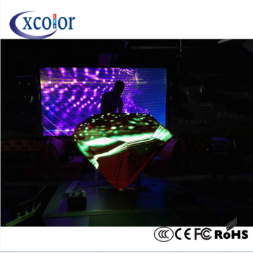 Stage Flexible P5 DJ Booth Display driehoek LED