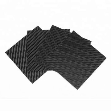 High quality china manufacture 1mm 2mm 3mm 5mm carbon fiber sheet glossy carbon diber plate