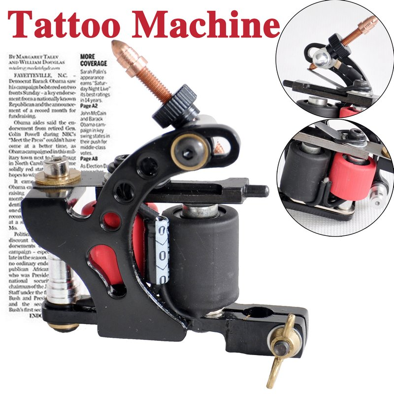 10 coli tattoo machine