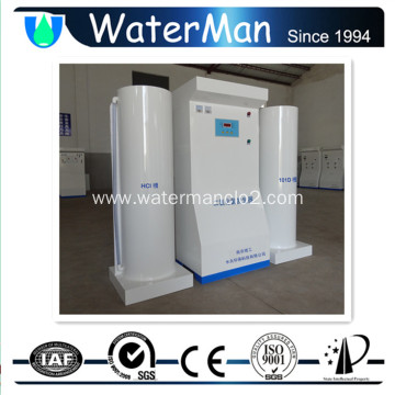 Medical waste chlorine dioxide generator