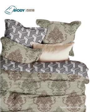 100% Polyester 4 Pcs Home comforter Bedding Set