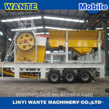 CE Professional Manufacture mobile roller crusher price