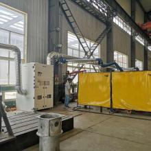 Sistema de ventilación de aire de colector de polvo de cartucho industrial