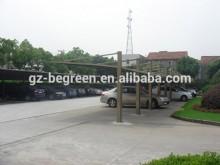 Public project construction polycarbonate solid carport, bus shelter