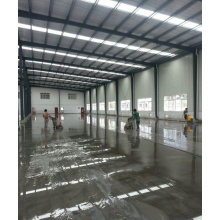Epoxy resin coated floor paint