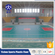 Hohe Qualität Billige Basketballplatz Sport Vinyl Bodenbelag Krawatten