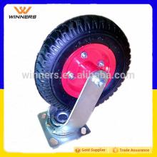 """barato 240mm 8 """"roda de rodízios industriais fixos e giratórios"""