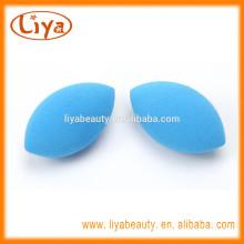 Liya blue cosmetics sponge latex for make up tools