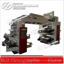 Máquinas de impressão flexográfica de filme LDPE de 4 cores