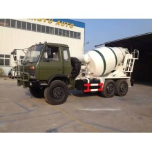 6 × 6 Dongfeng Military Agitating Lorry Truck