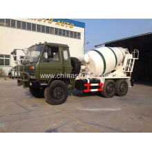 6×6 Dongfeng Military Agitating Lorry Truck