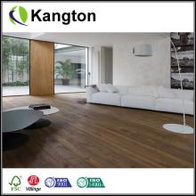 Piso de madeira de carvalho manchado (piso de madeira projetado)