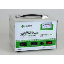 Kundenspezifische Tnd / SVC-1.5k Einphasenserie Vollautomatischer Wechselspannungsregler / Stabilisator