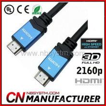 Vídeo 4K x 2K 1.4a Suporte Cabo 3D HDMI