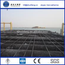 SAW tuyau en acier professionnel doublé de ciment