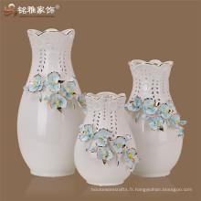 2016 nouveau style en gros Décorations de Noël Vase à fleurs d'orchidées Creamic