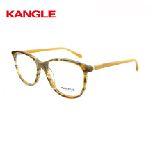 2018 colorful tortoise acetate frame with metal decoration