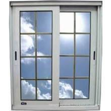 Fenêtre de verre coulissante horizontale d'alliage d'aluminium / aluminium de conception