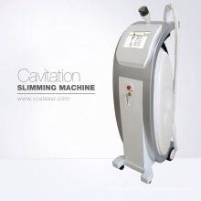Ultra lipo cavitación + rf máquina de adelgazamiento de belleza, cavitación y RF y vacío y láser para dar forma al cuerpo, con interruptor de pie y buena calidad