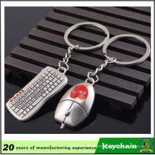 Boys and Girls Gift Mouse and Keyboard Shape Key Chain