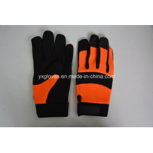 Mechanic Glove-Hand Glove-Cheap Glove-Work Glove-Leather Glove