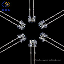 high quality 5mm straw hat led 850nm IR water clear