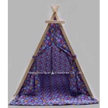 Hochwertiges gedrucktes Zelt mit Dreieckform