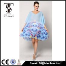 Vente en gros de mousseline de soie d'impression de couverture de couverture en sarong