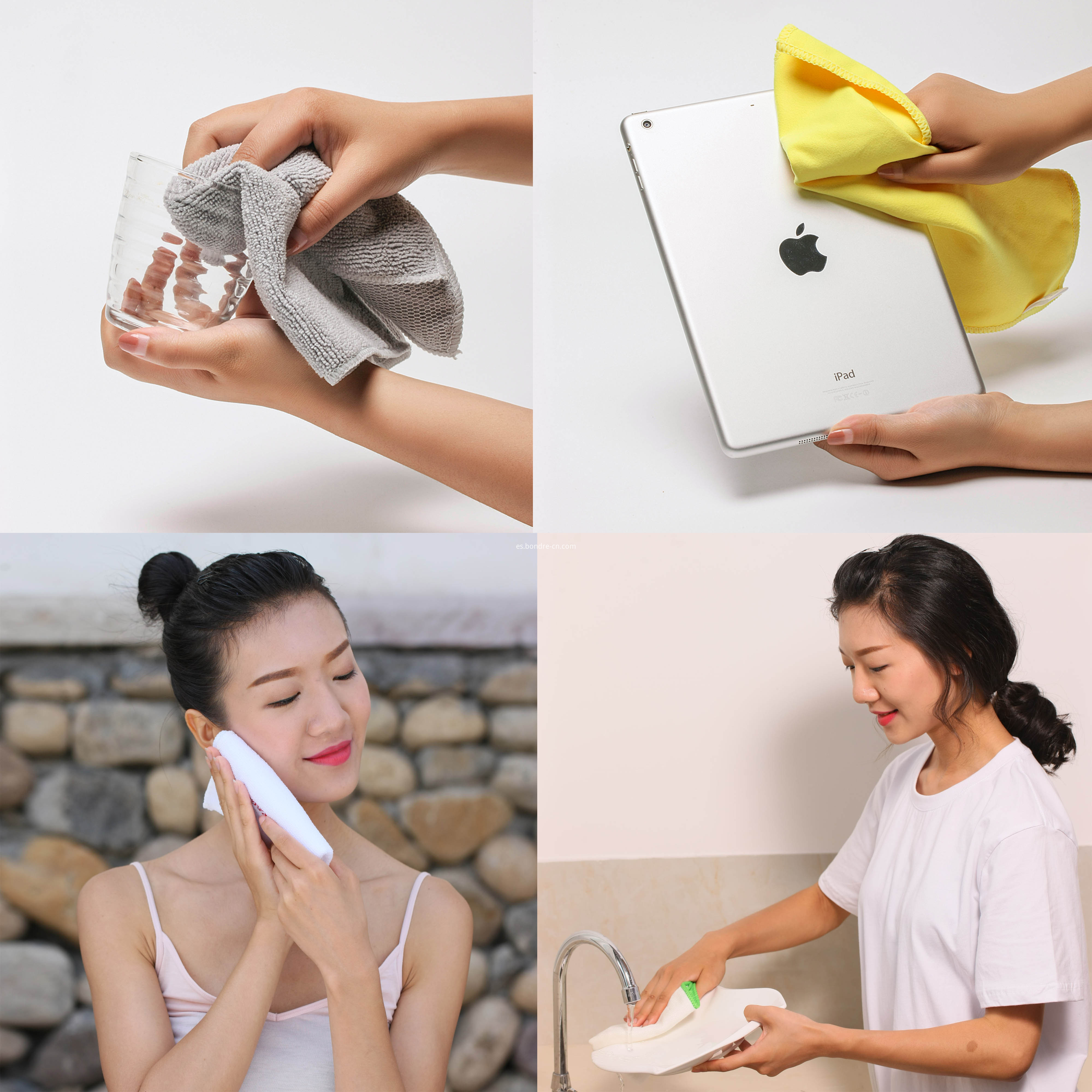Microfiber Multipurposes Cleaning Towels