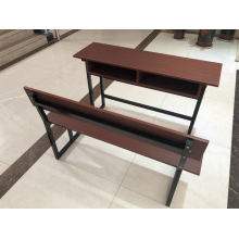2020 Newest Design Double Desk and Chair for School